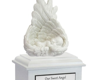 Protected By Angels Infant Urn