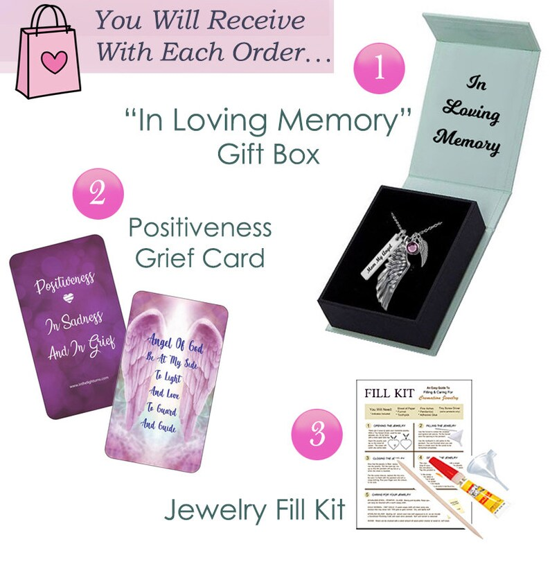 Double Cross Cremation Jewelry Urn Love Charms\u2122 Option