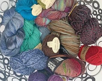 Mystery Grab Bags, Aran Weight Premium Yarns, Surprise Selection