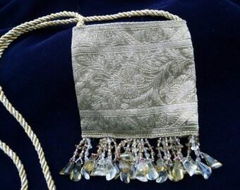 Tiny Purse, Gold Tapestry