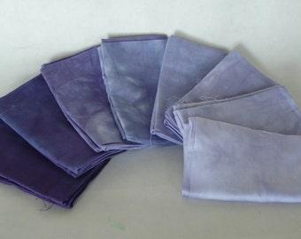 Fat Quarter bundle, Imperial Purple, 8 pieces