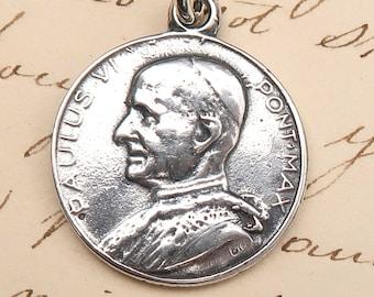 Papst Paul Vi Medaille Etsy