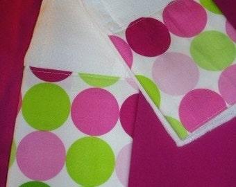 Boutique Burp Cloth sets......SORBET DOTS Baby Boutique Burp Cloth Set