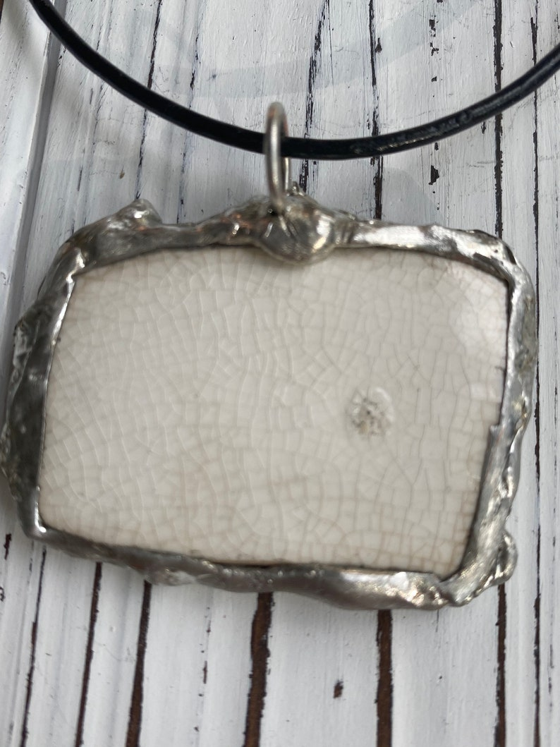 NOVEMBER 1909 Hand-Crafted Antique China Pendant