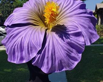 Hibiscus, hibiscus crown, hibiscus flower, hibiscus, hibiscus headband, huge flower, high flower, tiki, tiki oasis