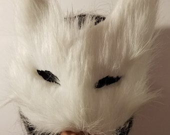 Cat mask, Kitty mask, Fur, Fur mask, Kitty, Masquerade ball, Cosplay, Catcon, Cat cosplay, Kitten, Mask