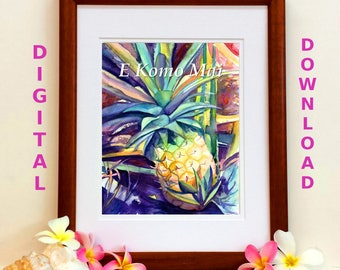 Hawaiian Quotes Digital Art Prints 8x10 and 5x7 printable ...