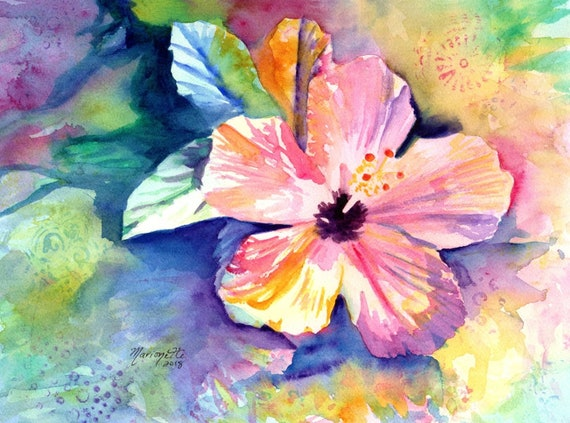 Hibiscus Flower Fine Art Print from Kauai Hawaii
