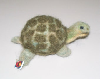 Custom Needle Felted Turtle