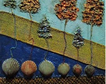 Wonder Shells Collage