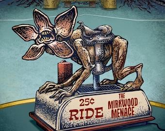 "Mirkwood Menace- 11"" x 14"" limited edition print"