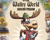 Walley World Souvenir Program- 11 x 17 limited edition print