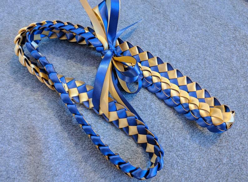 Single Braid Ribbon Lei image 0