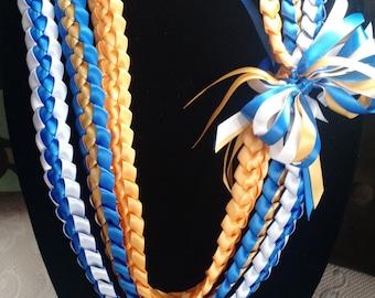 Triple Strand Ribbon Lei