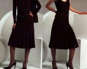 Vogue V2867 Donna Karan Shrug Tank Top and Skirt Size 12 14 16 Uncut Sewing Pattern 2005