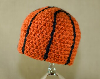 Crochet Basketball Hat