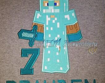 Minecraft shirt | Etsy