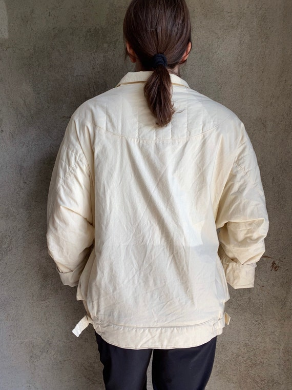 Dolman quilted jacket - image 7