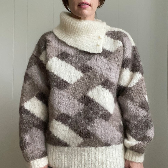 1980's mohair sweater