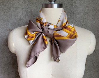Vintage oversized silk Paloma Picasso scarf