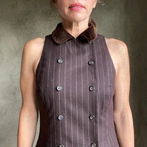 Vintage Ralph Lauren wool dress