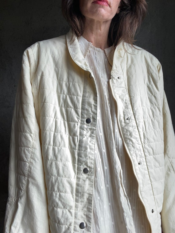 Dolman quilted jacket - image 3