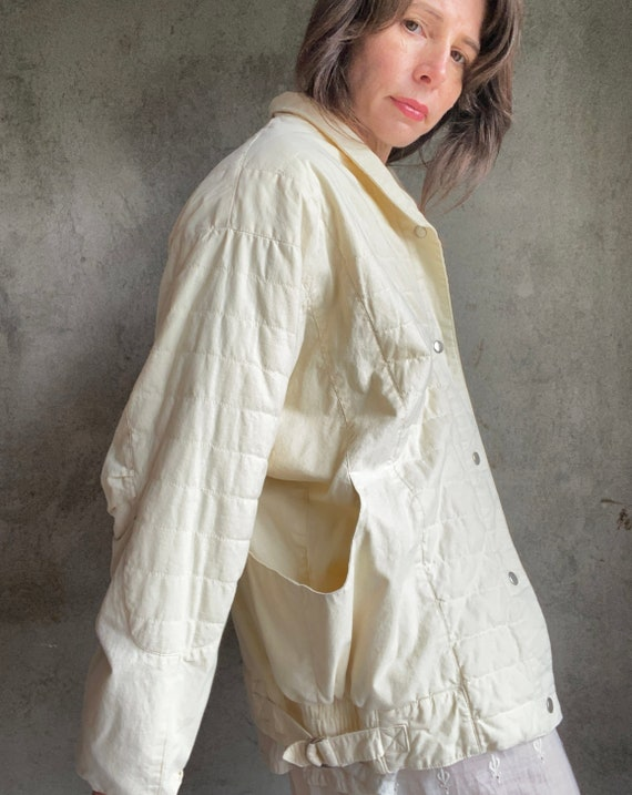 Dolman quilted jacket - image 6