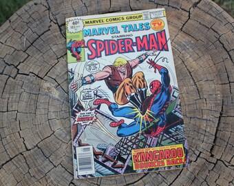 Vintage Autographed Spider-Man Comic Book