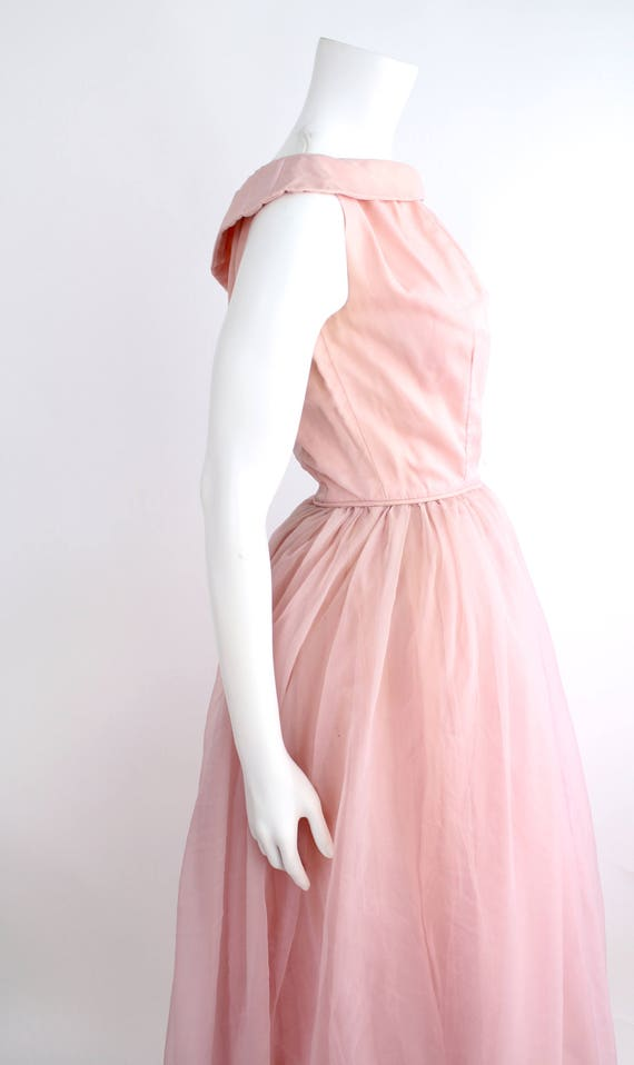 Pretty in Pink Party Dress | Vintage 1950s Fit and