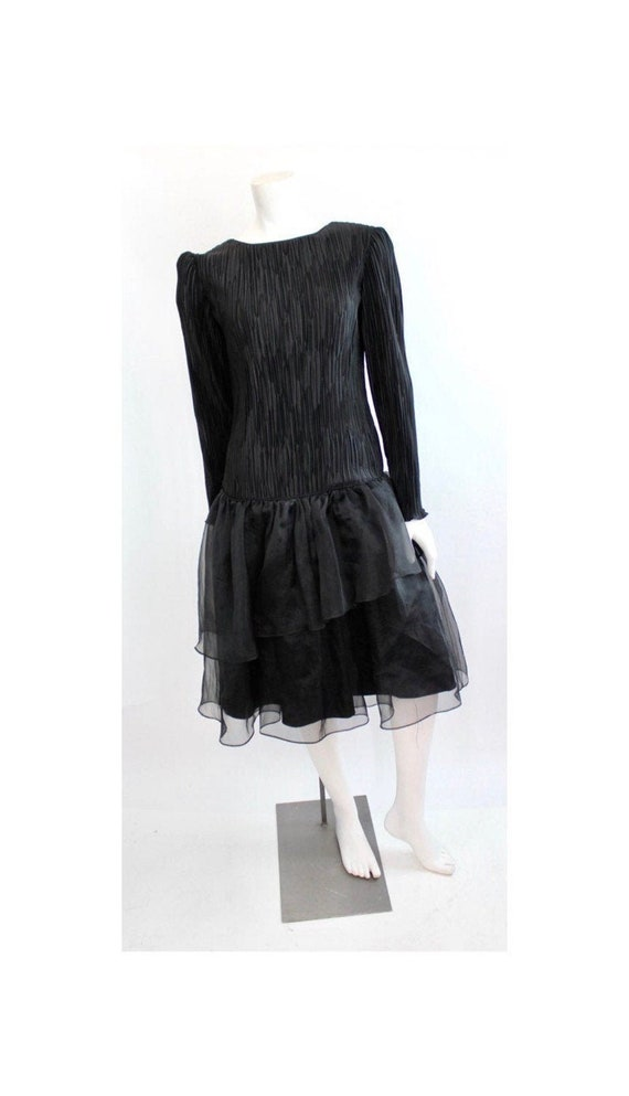 Fortuny Pleat Evening Dress | Vintage Black Pleate