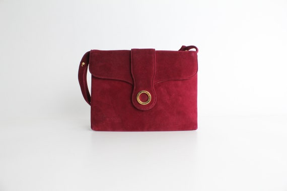 Vintage 50s Saks Fifth Avenue Handbag | Crimson Nu