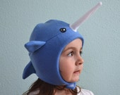 The Narwhal Whale hat,  sizes: newborn through adult SALE