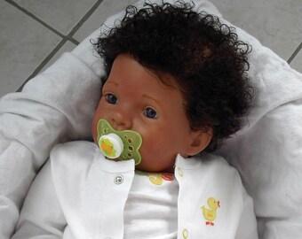 CUSTOM AA Biracial Ethnic KITTEN Big Reborn Baby Girl/Boy Doll