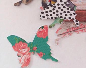 Variety - Modern Butterfly Stickers, Planners, Card Making, Snail Mail, Mail Art, PL, Project Life