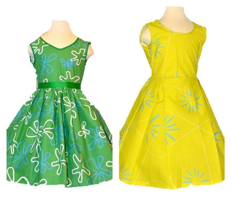 sizes 2-14 girls Emotions Dress