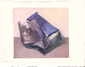 gouache painting - still life painting