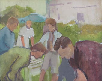 original painting / figurative painting / fine art