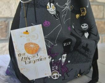 Medium Drawstring Project Bag- NBC Jack Inspired - Knitting- Crochet- Needlearts- Crafting- Artist