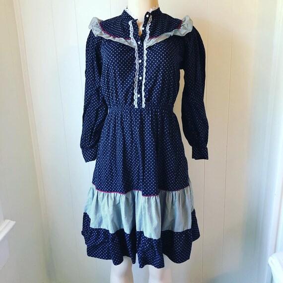 Vintage Cotton Cottagecore Dream Dress