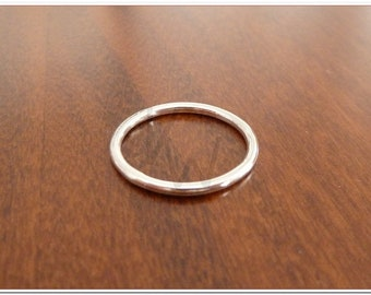 Sterling silver Ring - 1,5mm round section