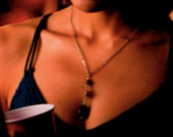 "As Seen On The Vampire Diaries ~ ""Bijoux"" Teardrop Necklace"