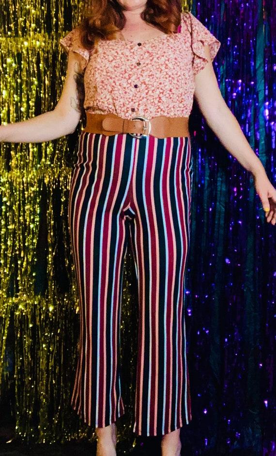 1970s striped pants