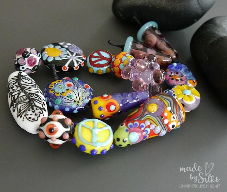 Destash Beads Artisan made glass lamp work beads