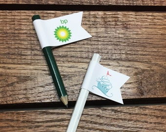 Corporate Event Pencil Flags - Set of 25