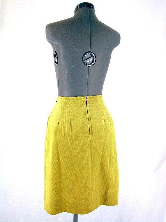 Vintage Corduroy Suit - 1970's Golden Tan Western… - image 4