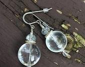 Quartz Crystal Stone With...