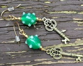 Green Lampwork Beads And ...