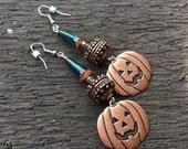 Copper Pumpkin Halloween ...