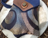 Swirling Blue Tapestry Te...