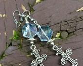 Sparkling Crystal Cross C...